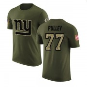 Youth Spencer Pulley New York Giants Legend Olive Salute to Service T-Shirt